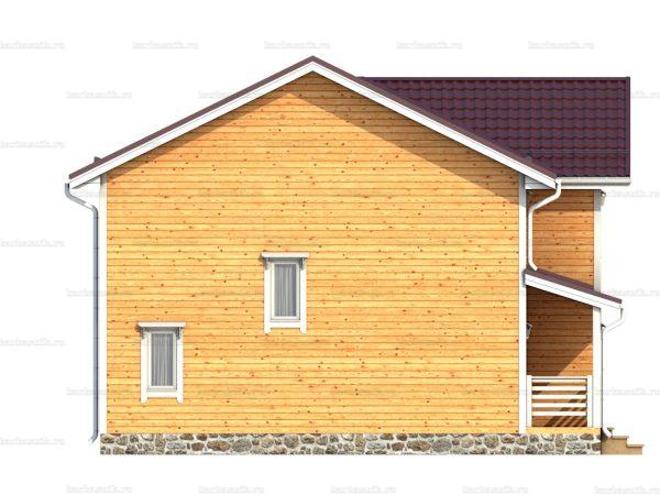 Дом под ключ с эркером 10х9 фото 5