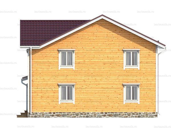 Дом под ключ с эркером 10х9 фото 3