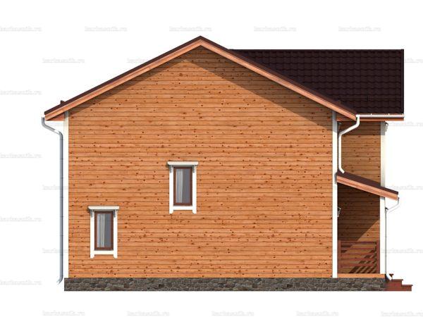 Дом с эркером 10х9 фото 6