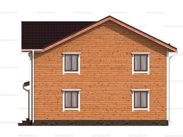 Дом с эркером 10х9 фото 4