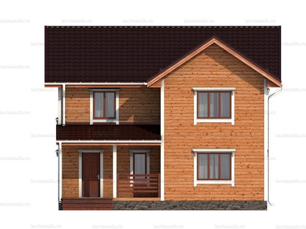 Дом с эркером 10х9 фото 3