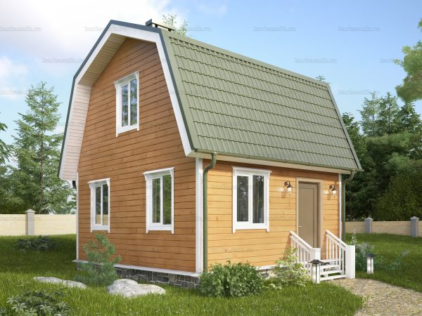 Дом из профилированного бруса 6х5