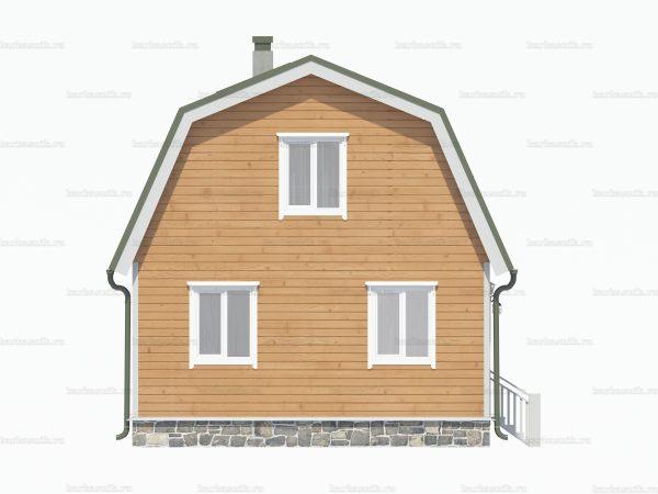 Проект дачного домика 6х5 для проживания