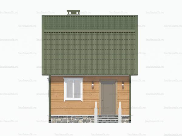 Дом из профилированного бруса 6х5 фото 3