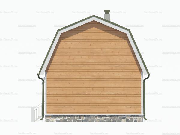 Дом из профилированного бруса 6х5 фото 4