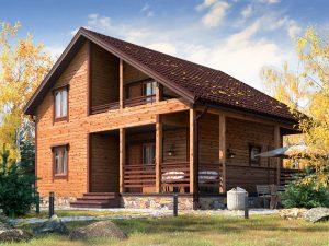 Большой дом 9.5х8