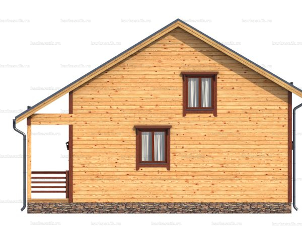 Дом под ключ с балконом 9.5х8 фото 3