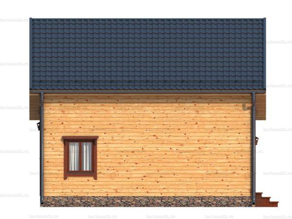 Дом под ключ с балконом 9.5х8 фото 5