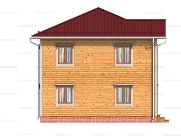 Дом под ключ с вальмовой крышей 8х8 фото 6