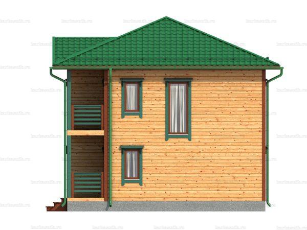 Дом с доставкой 8х8 фото 4