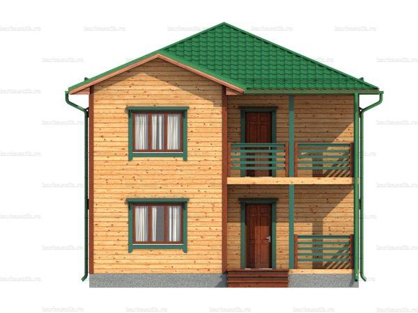 Дом с доставкой 8х8 фото 5