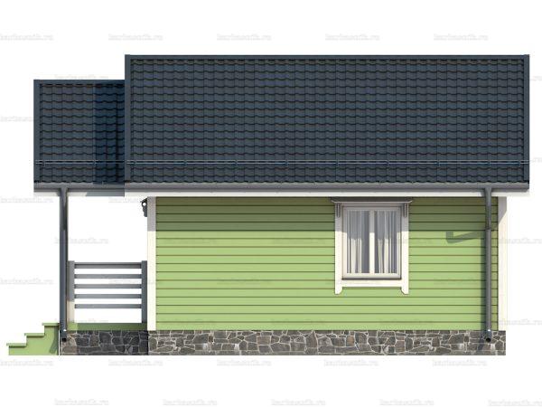 Дом под ключ с террасой 7.5х6 фото 3