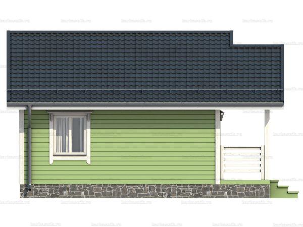 Дом под ключ с террасой 7.5х6 фото 5