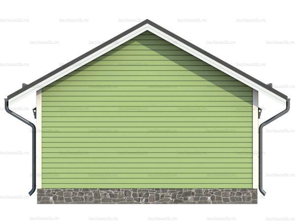 Дом под ключ с террасой 7.5х6 фото 6