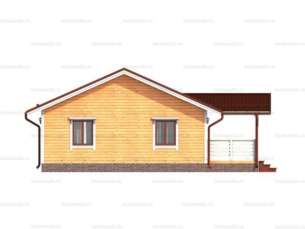 Одноэтажный дом под ключ 12х8 фото 6