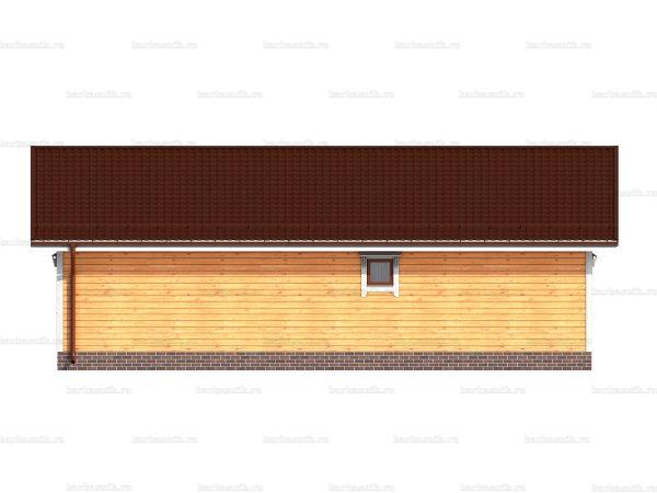 Одноэтажный дом под ключ 12х8 фото 5