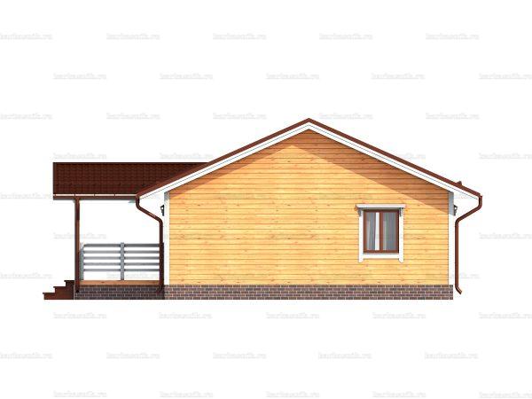 Одноэтажный дом под ключ 12х8 фото 4