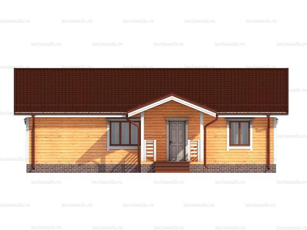 Одноэтажный дом под ключ 12х8 фото 3