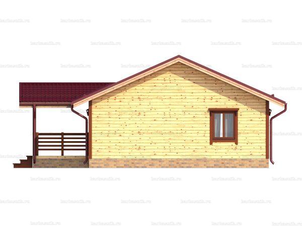 Дом из северного леса 12х8 фото 4