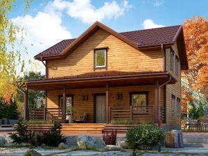 Уютный дом 9х7.5