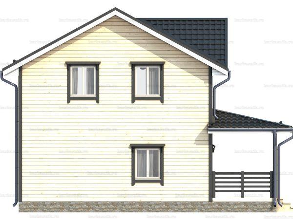Двухэтажный дом под ключ 9х7.5 фото 6