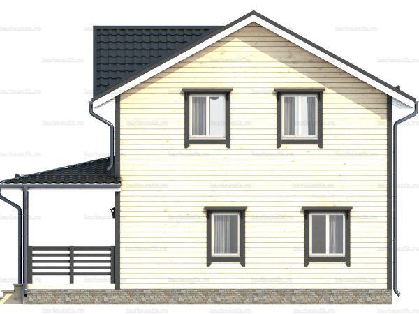 Двухэтажный дом под ключ 9х7.5 фото 4