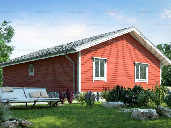 Проект каркасного зимнего дома 12х9 для строительства под ключ