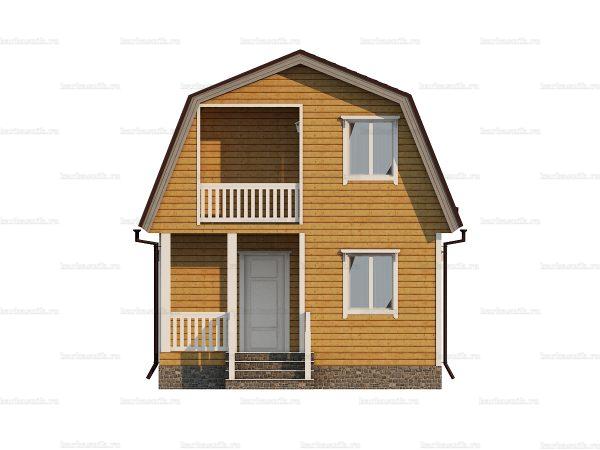Дом для круглогодичного проживания 6х6 фото 3