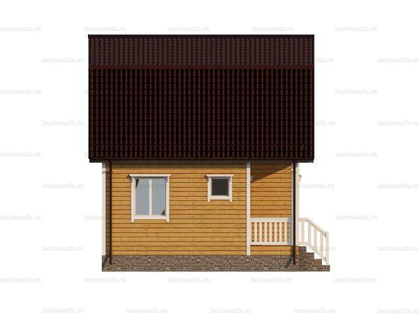 Дом для круглогодичного проживания 6х6 фото 4