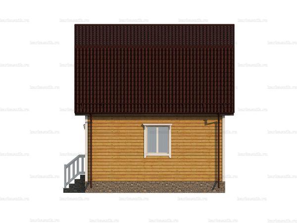 Дом для круглогодичного проживания 6х6 фото 5