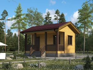 Маленький дом 6х4.5