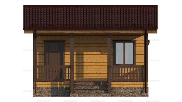 Маленький дом 6х4.5 фото 3