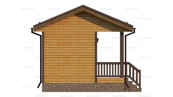 Маленький дом 6х4.5 фото 6