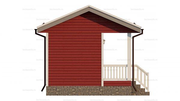 Каркасный дом с одной спальней 6х4.5 фото 4