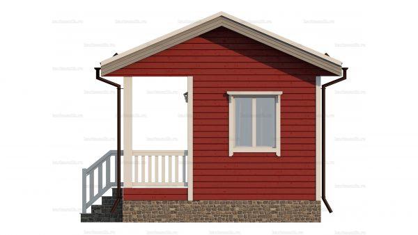 Каркасный дом с одной спальней 6х4.5 фото 6
