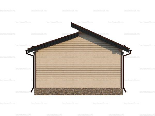 Садовый каркасный домик 6 на 6 фото 4