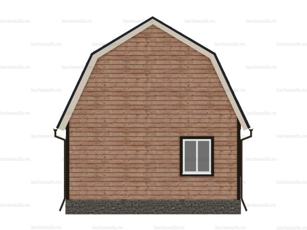Дом из бруса 6х6 фото 4