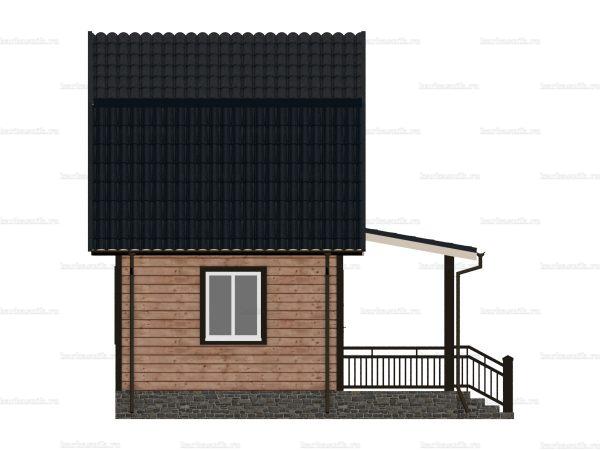 Дом из бруса 6х6 фото 5