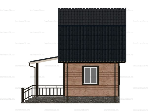 Дом из бруса 6х6 фото 6