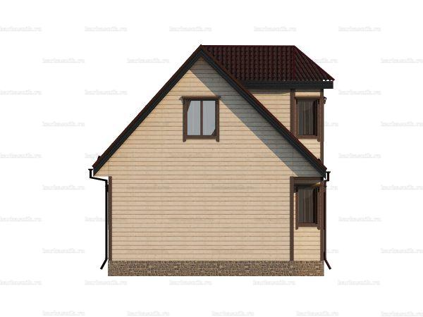 Дом под ключ для проживания 9х7 фото 3