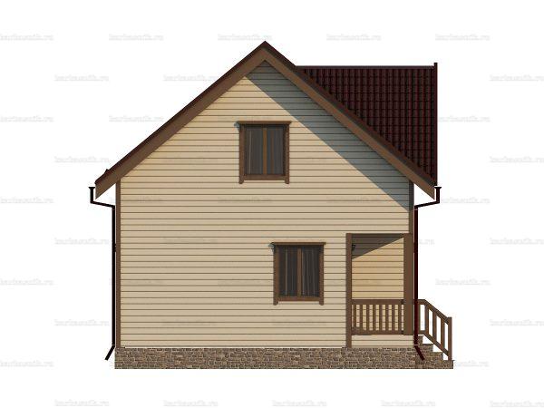 Зимний дом под ключ 9 на 7 фото 3