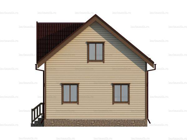 Зимний дом под ключ 9 на 7 фото 5