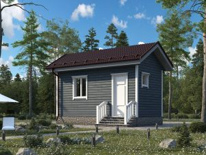 Строительство недорого дома 6х3