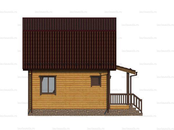Скандинавский дом 7.5х6 фото 3