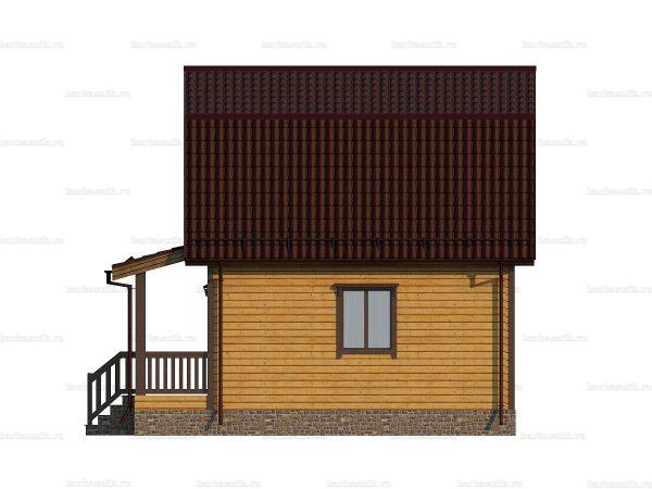 Скандинавский дом 7.5х6 фото 5