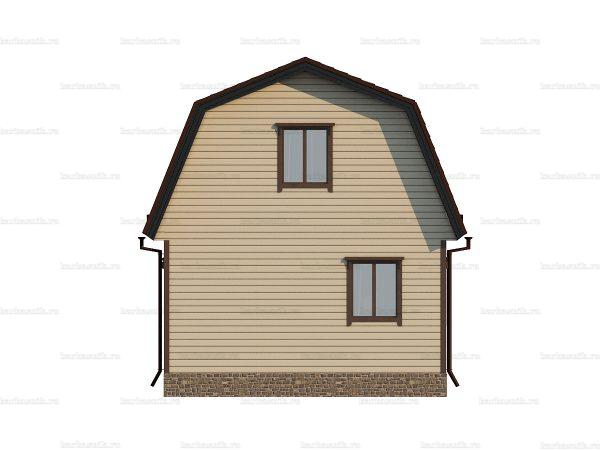 Щитовой дом для зимнего проживания 8х6 фото 4