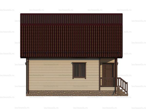 Щитовой дом для зимнего проживания 8х6 фото 3