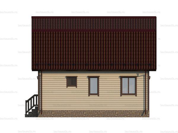 Щитовой дом для зимнего проживания 8х6 фото 5