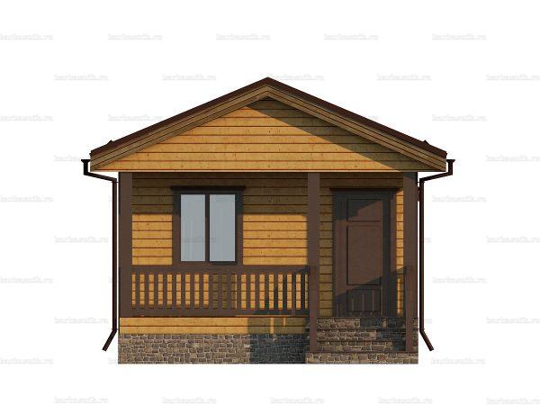 Проект дачного домика 5х4.5 для проживания