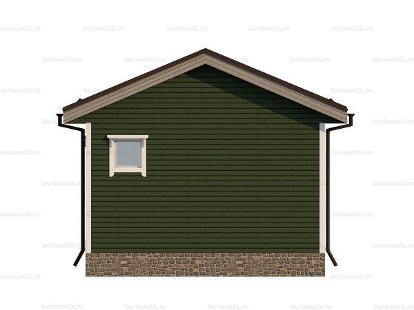 Щитовой дом с террасой 5х4.5 фото 4